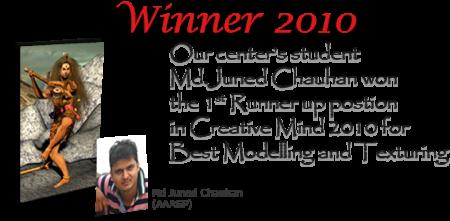 Creative Mind Winner 2010